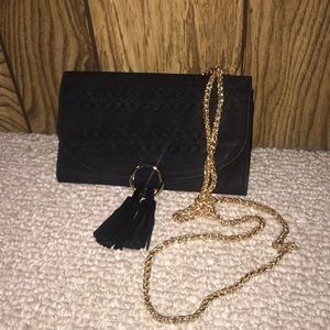 NWOT Street Level Anthropologie Black Crossbody